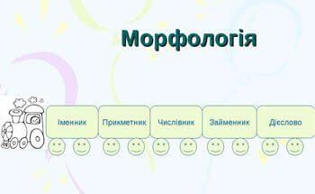 Морфологія. Тест для самоперевірки №8. Відповіді